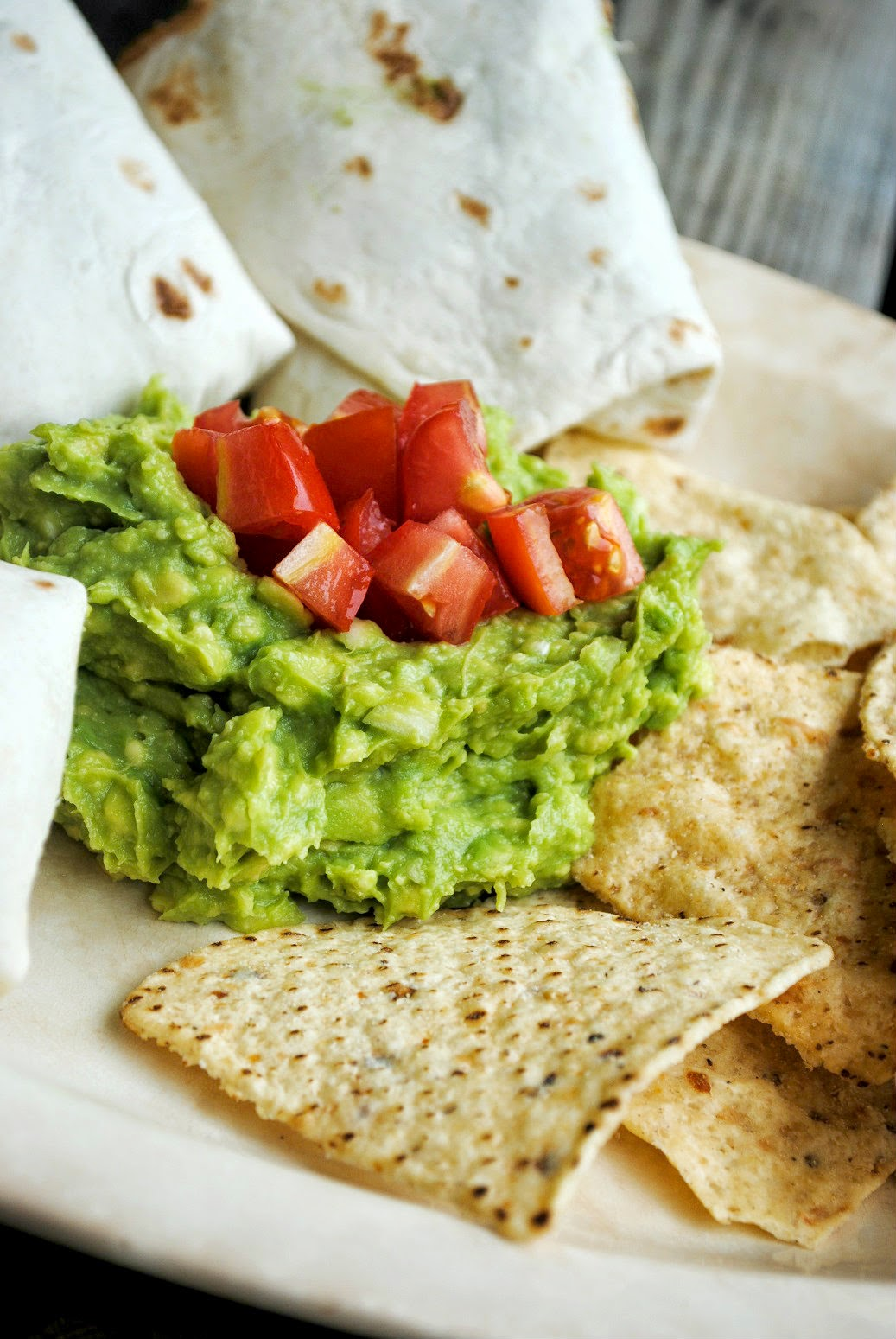 Land of Yum: Beef & Bean Burritos + Chunky Guacamole