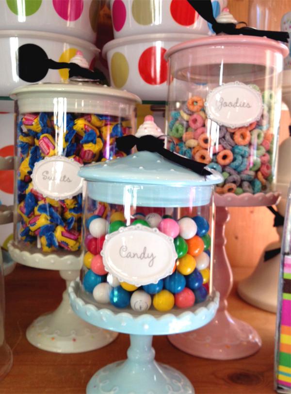 whimsical candy jars
