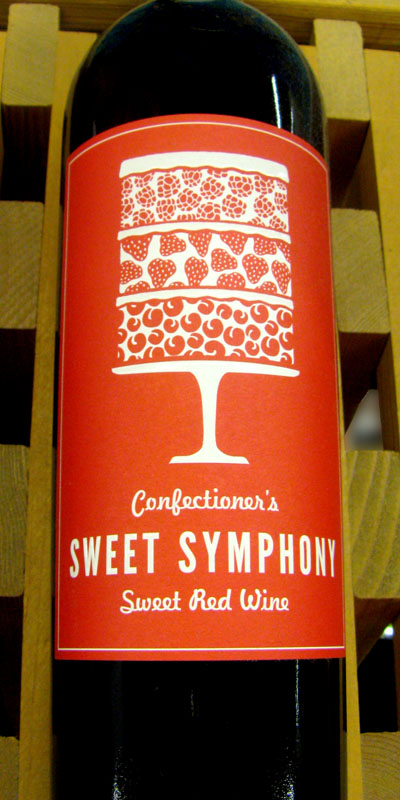 Drinks with musical names - Sweet Symphony Sweet Red Wine