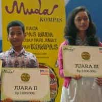 SMAN 110 Meraih Juara Event Hutan Sekolah dari Kompas Muda