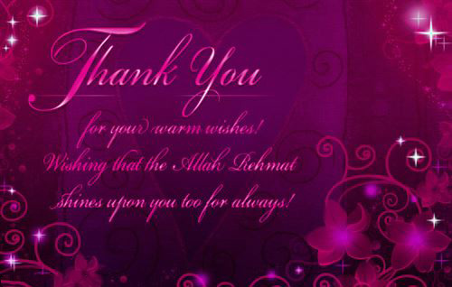 Best Free Ramadan Greeting Card With Purple Background