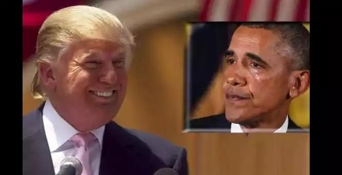 Εξευτελισμός του Ομπάμα καθώς το όνειρο του Τραμπ πραγματοποιείται
