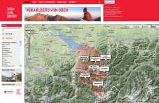 Austria desde el aire en Google Maps