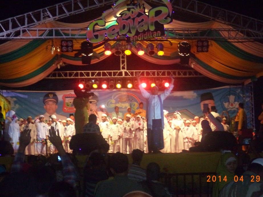 Haddad Alwi di Gebyar Pendidikan Tanjungbalai