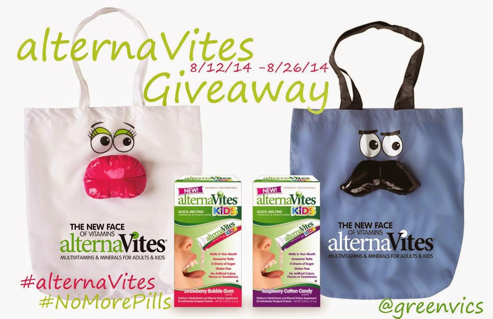 alternaVites Giveaway