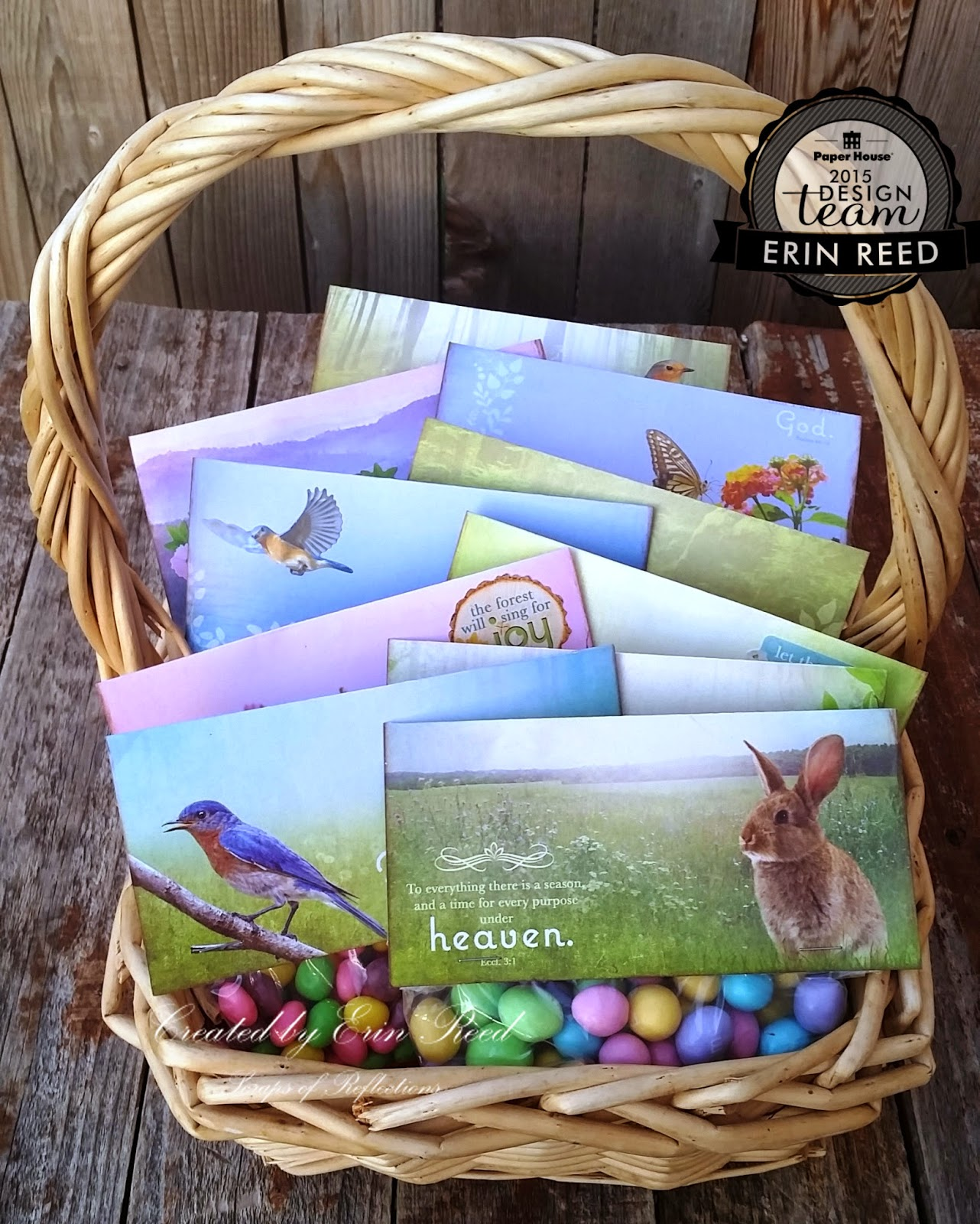 Scraps of reflection easter gift bags paper house easter gift bags paper house negle Gallery