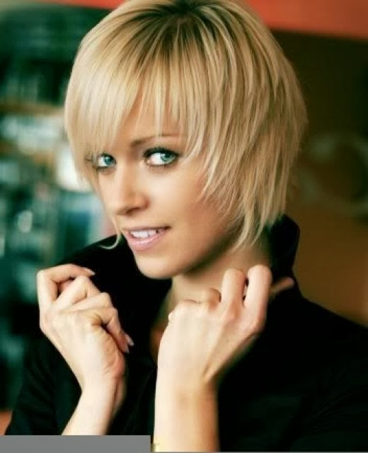 short hairstyles for fine thin hair 2011