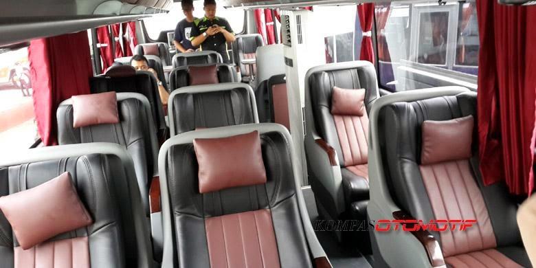 Bus Seharga 4.3 Milyar itu dengan Shasis MercedesBenz OC 500 RF 2542