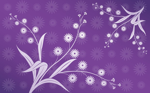 Abstract Lavender Flowers Stock Image - Image: 26522501