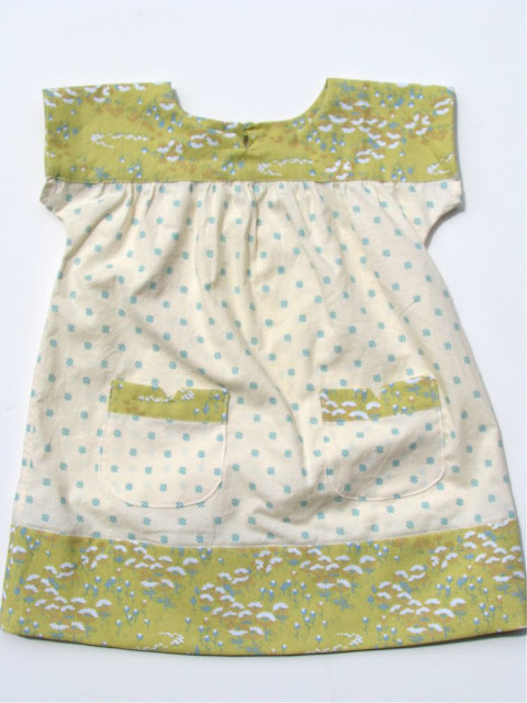 Ice Cream Dress and Bonnet @ Made by Rae