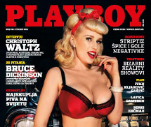 Angel Wicky Playboy Croácia Novembro 2015