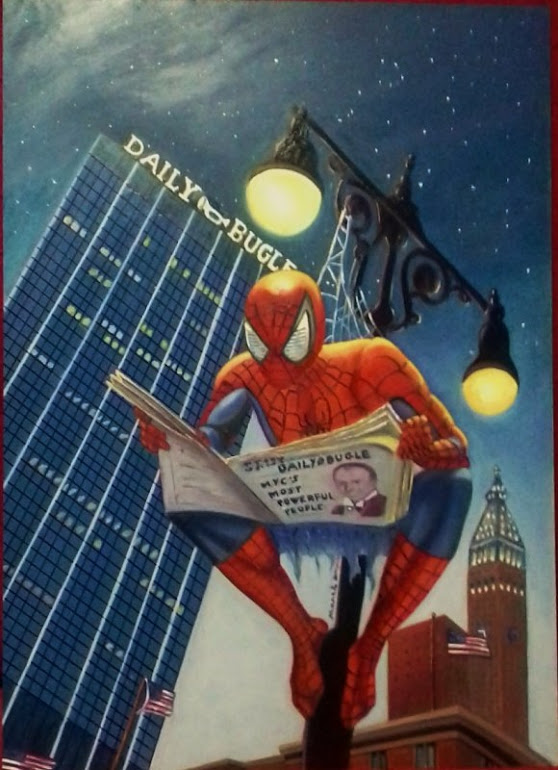 CARTEL SPIDERMAN