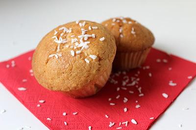 Muffinki kokosowe z sercem