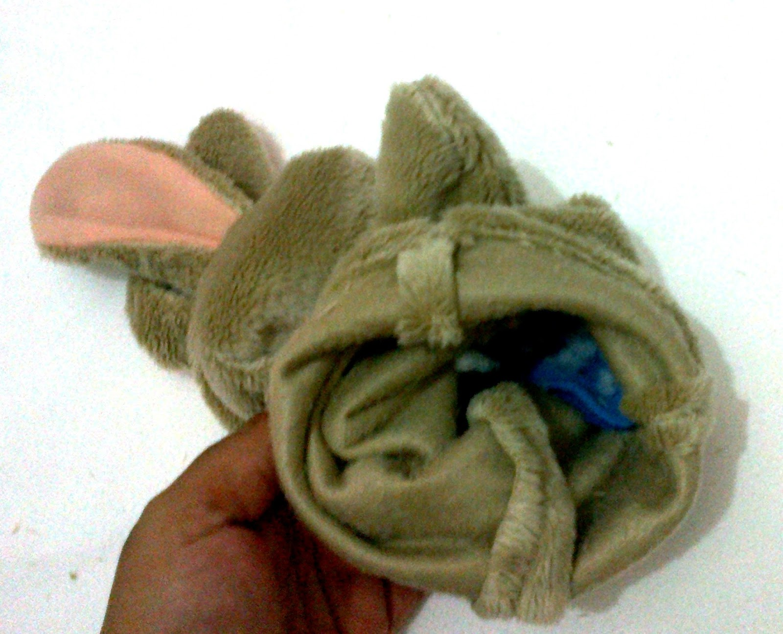 how to make a rabbit puppet
