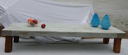 mesa en pinotea 1,80 x 0,60 m