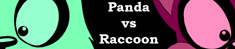 Panda VS Raccoon