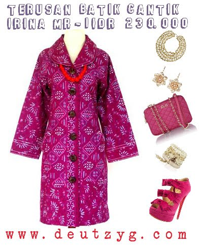Butik Batik OnlineBatik Maxi Dress Toko Baju Batik O