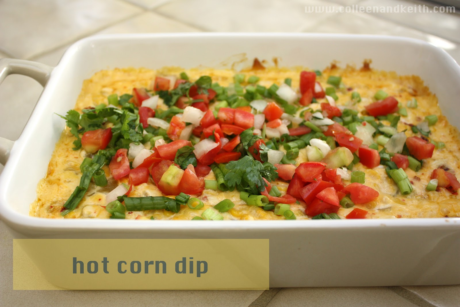 Meet the Sullivans: Recipe: Hot Corn Dip