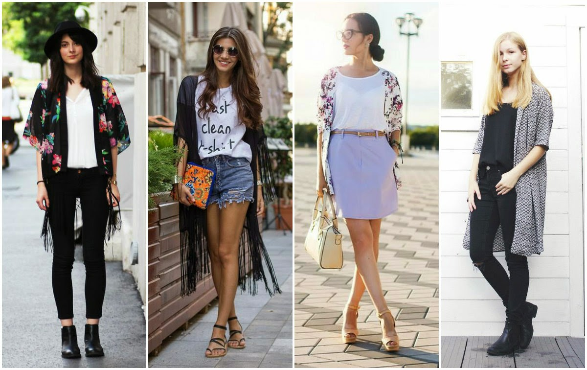 kimono, style, streetstyle, trends, tendencias, moda, chic, boho, pretty, summer, trendy, casual, fashionista,