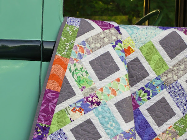 Good Fortune Charm Quilt