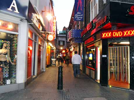 prostitutes in london soho red light district. Black Bedroom Furniture Sets. Home Design Ideas