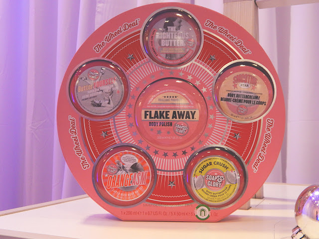 Soap and glory Wheel Deal christmas set