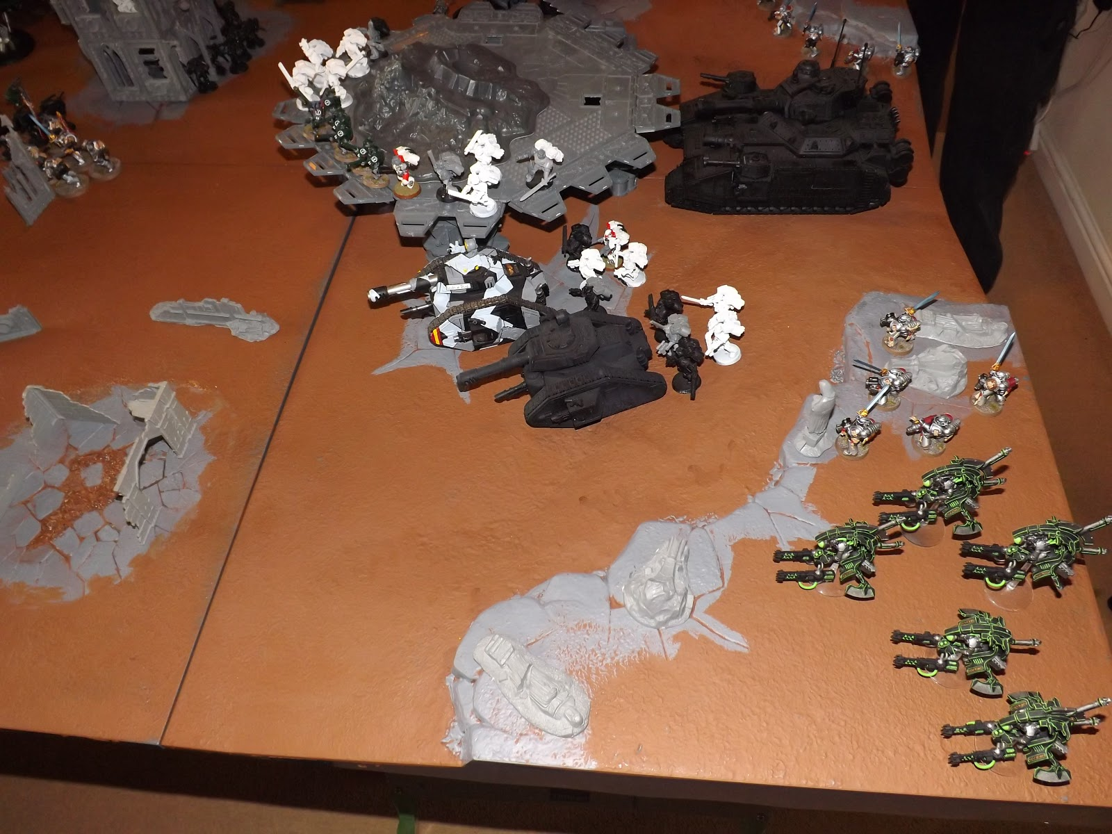 realm of warhammer 40k battle report defence of dreadhaven