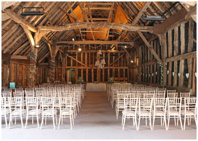 The Barn Looked Beautiful It Was Incredibly Dark Though As Venue Shut All Doors During Ceremony And There Very Little In Way Of