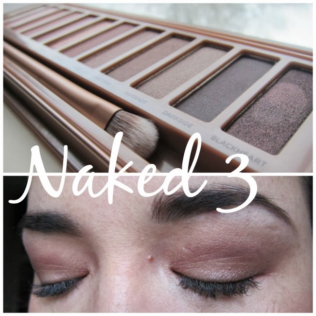 Naked 3 Urban Decay Swatches