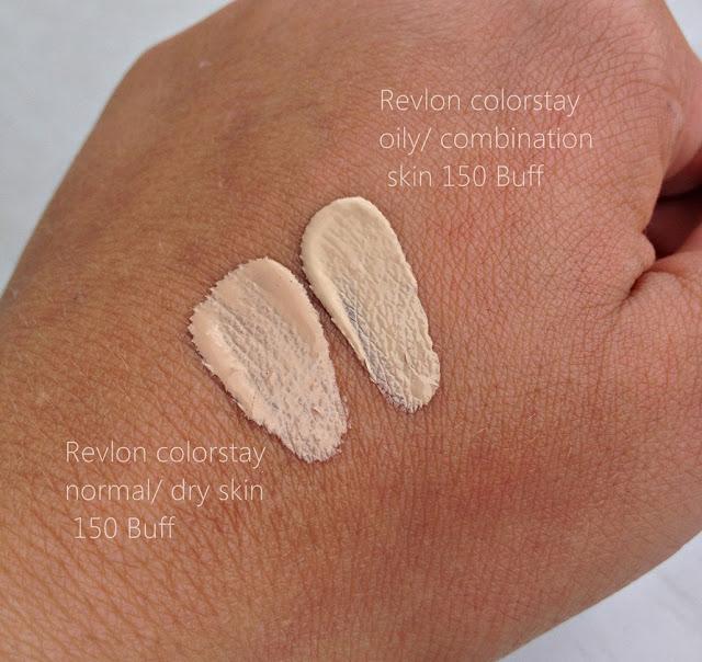 Porównanie odcieni Revlon Colorstay
