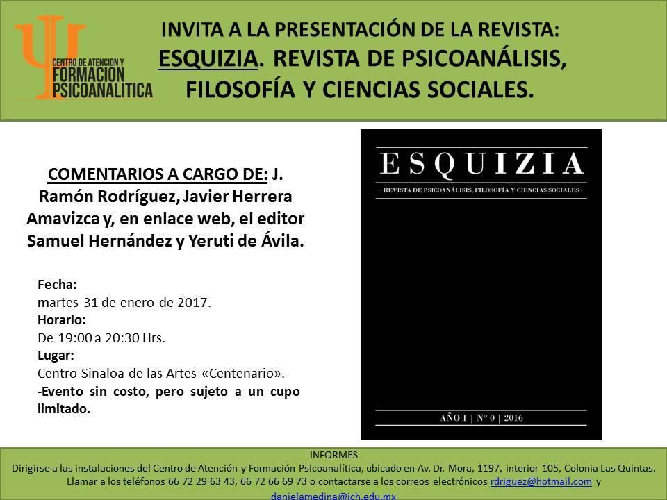 Presentación de Esquizia en Sinaloa