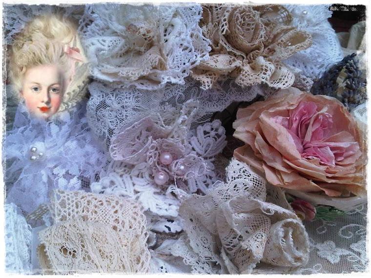 Mijn kanten roosjes voor Marie-Antoinette