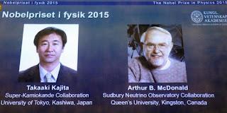 PROFIL TAKAAKI KAJITA DAN ARTHUR B MCDONALD NOBEL FISIKA 2015