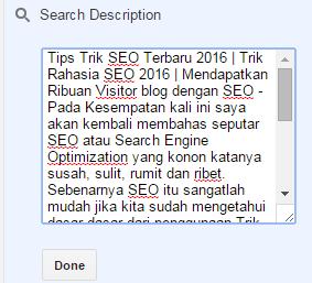 Tips Trik SEO Terbaru 2016