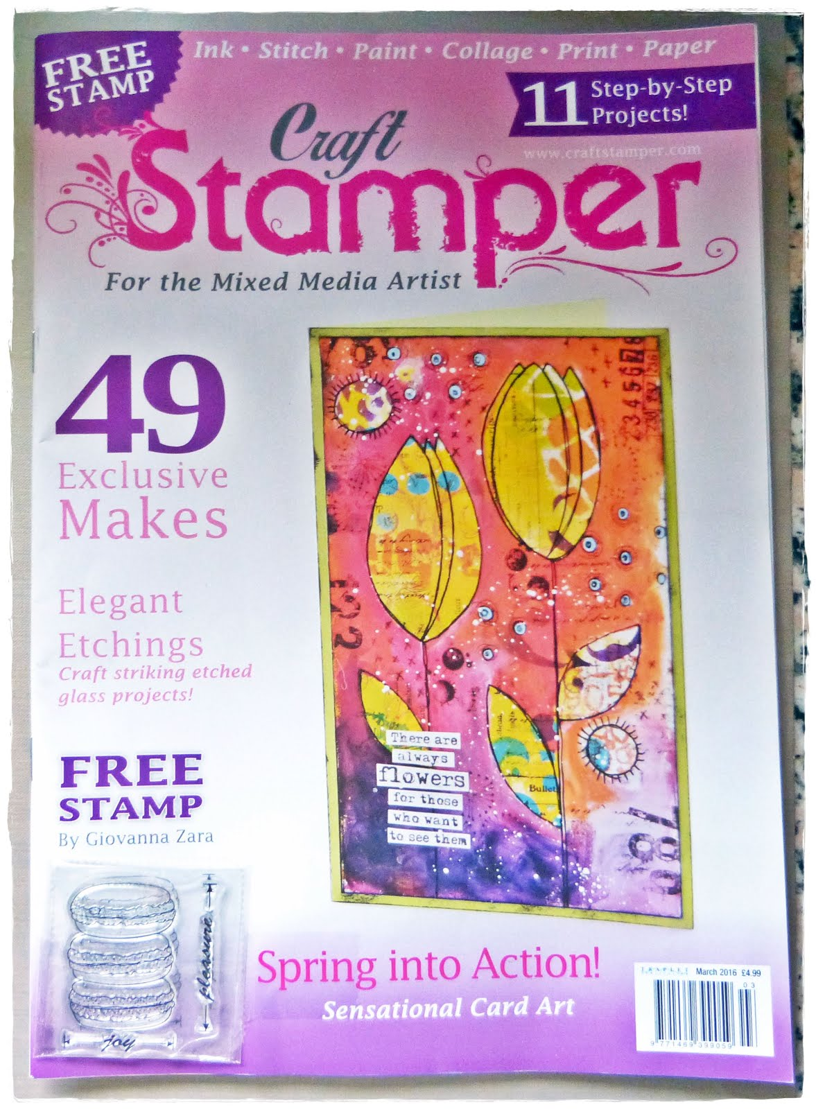 Published Craft Stamper Magazine