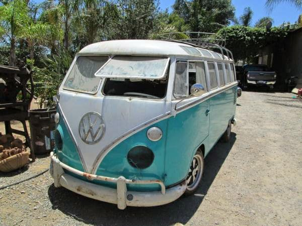 Two 23 window buses for sale vw bus wagon for 1963 vw 23 window bus for sale