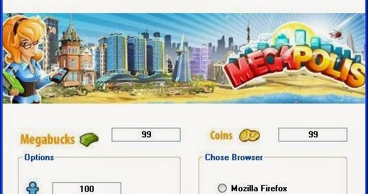 megapolis hack tool activation code