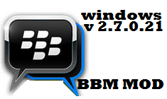 BBM Mod Themes Windows Phone Version 2.7.0.21 (Dual BBM)