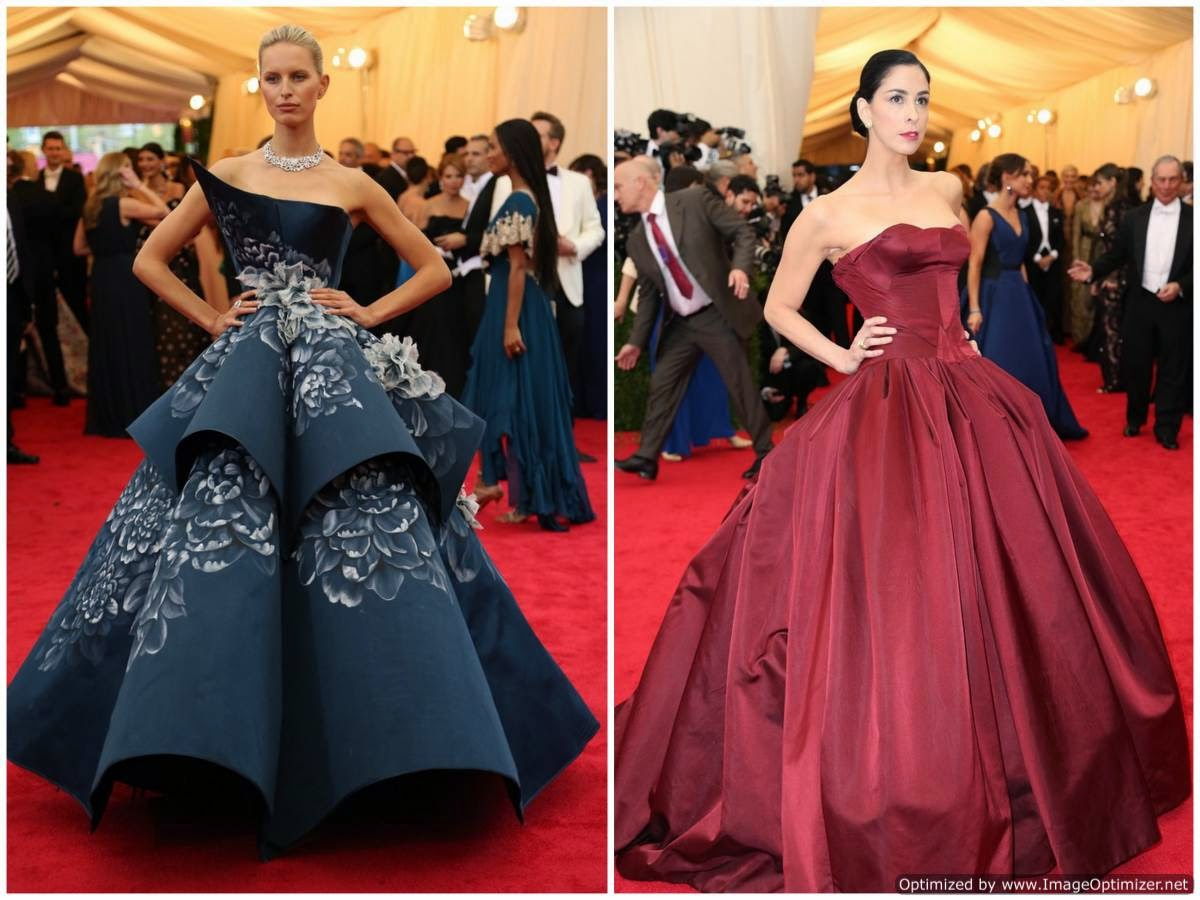 sarah silverman met ball