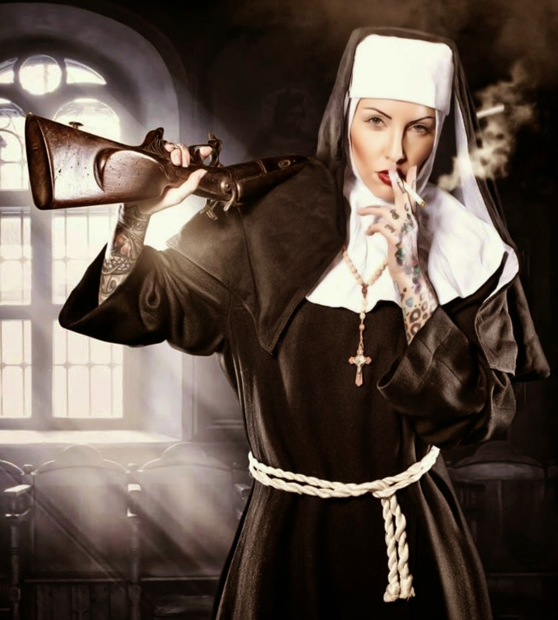 Sou a Gyoconda Ferro Salgado, madre superiora do Convento das Redentoras Humilhas