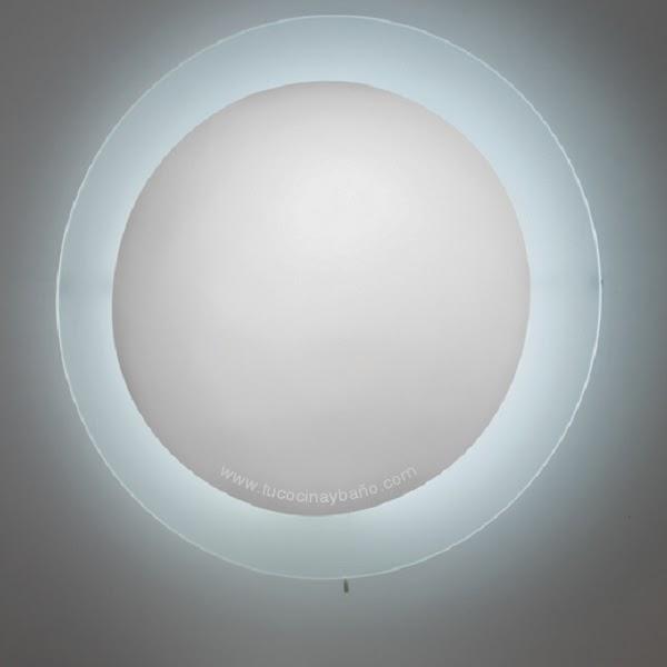 Espejo redondo con iluminacion tu cocina y ba o for Espejos para banos con luz incorporada