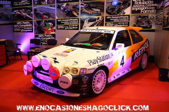 Ford Escort Cosworth WRC Repsol en Madrid Motor Days