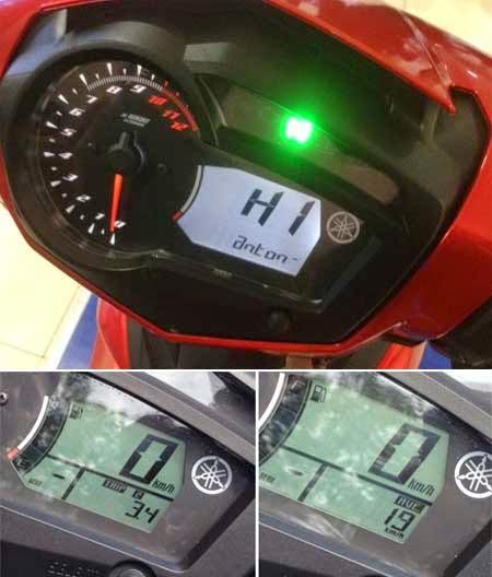 fitur speedometer Yamaha Jupiter MX 150