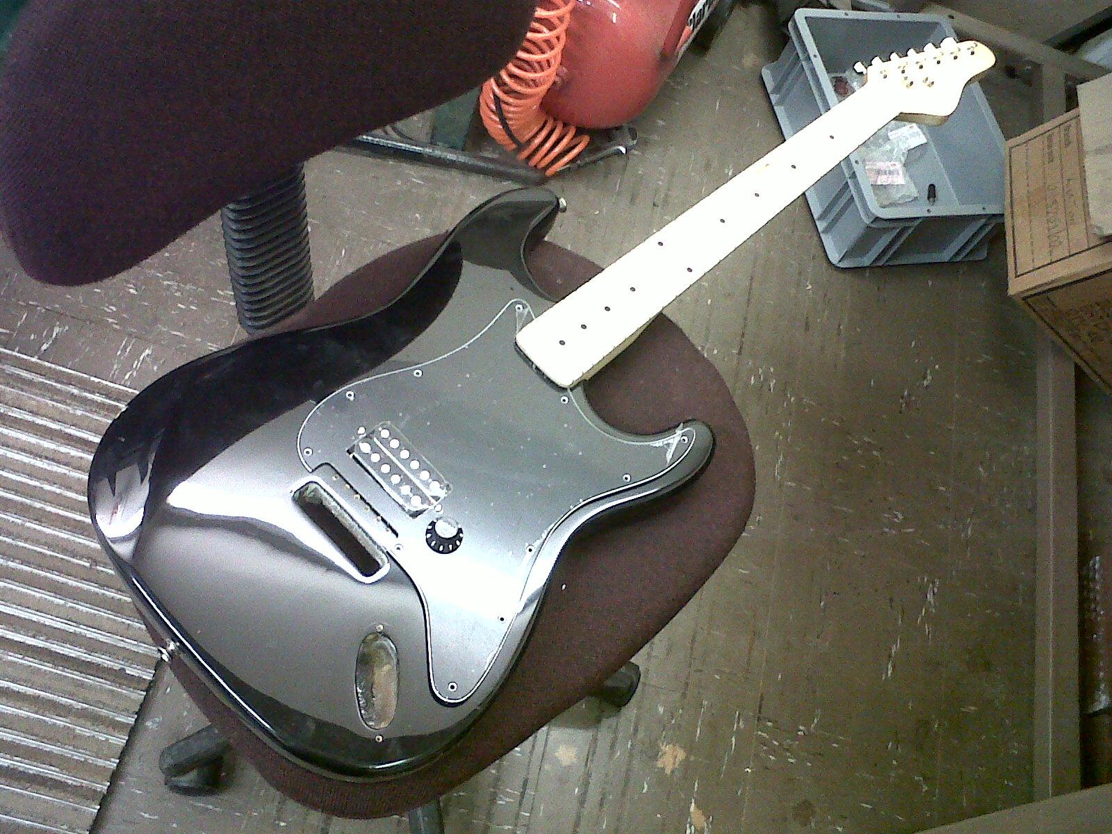 DIY Heavy Metal Guitar