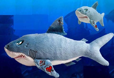 Tubarão de pelucia