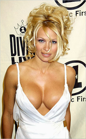 Pamela Anderson Hot Cleavages