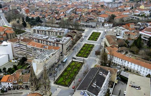 Vista aérea do Centro histórico de Guimarães
