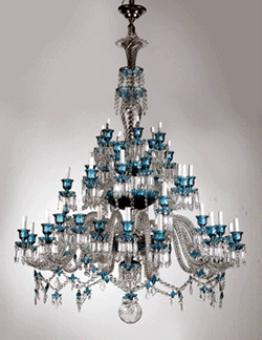 lampu kristal antik