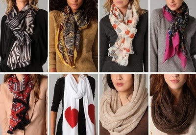 Scarf Styles: Winter Head Scarf Fashion