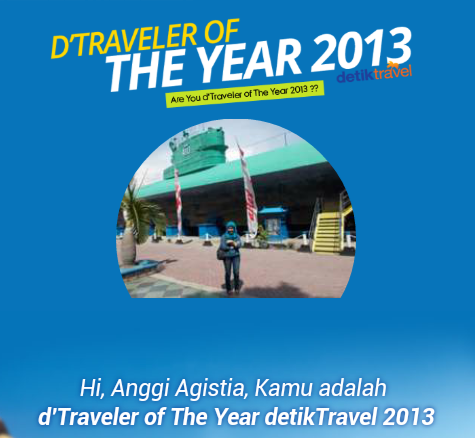 D'Traveler of The Year 2013